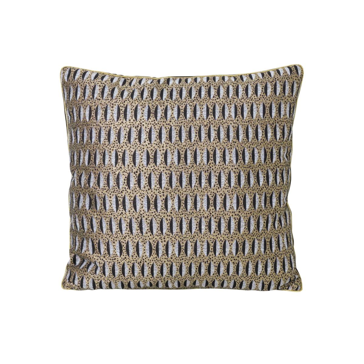 ferm living salon kissen 40 x 40 cm leaf mehrfarbig t 40 h 25 b 40 online kaufen bei woonio. Black Bedroom Furniture Sets. Home Design Ideas