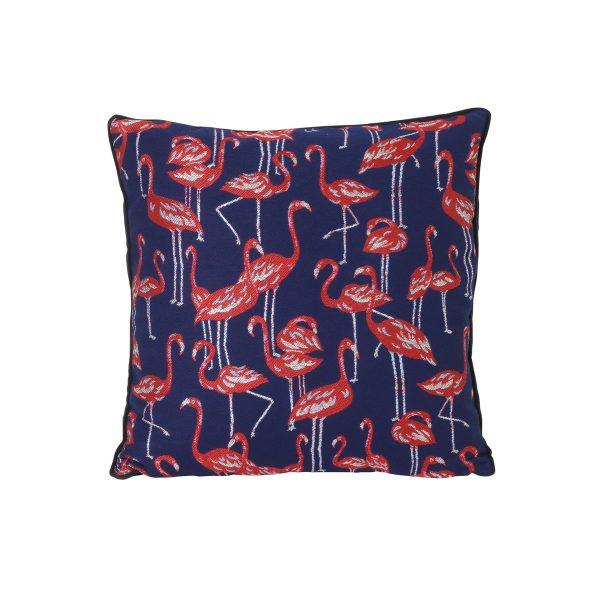 ferm Living - Salon Kissen Flamingo 40 x 40 cm