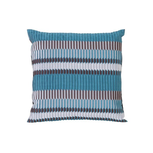 ferm Living - Salon Kissen Pleat 40 x 40 cm