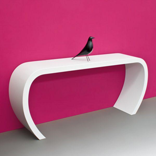 sideBow Sideboard weiß