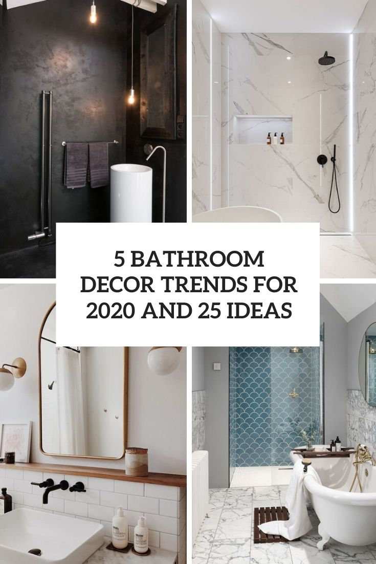 20 Bathroom Décor Trends For 20 And 220 Ideas   Wohnidee by WOONIO