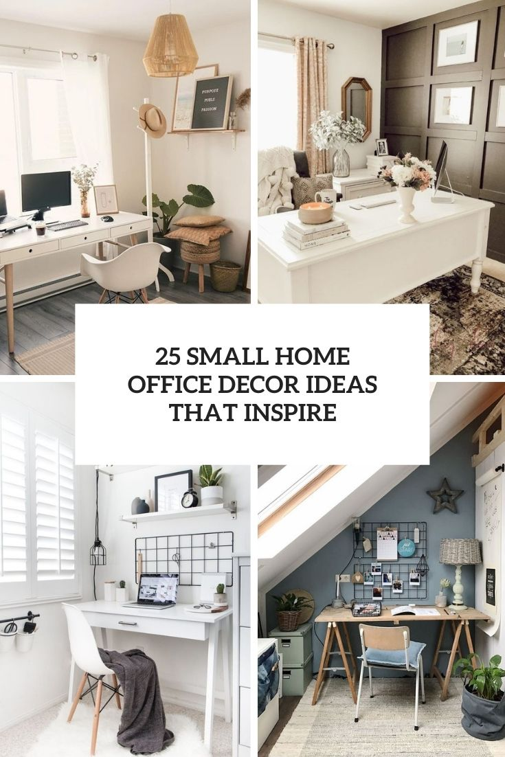 20 Small Home Office Decor Ideas That Inspire   Wohnidee by WOONIO